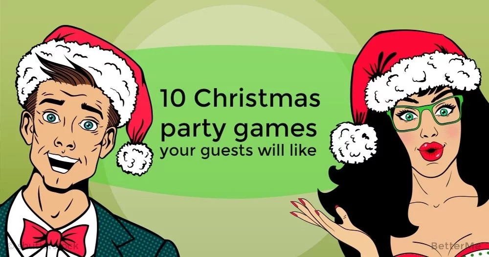 10 Christmas party games your guests will like