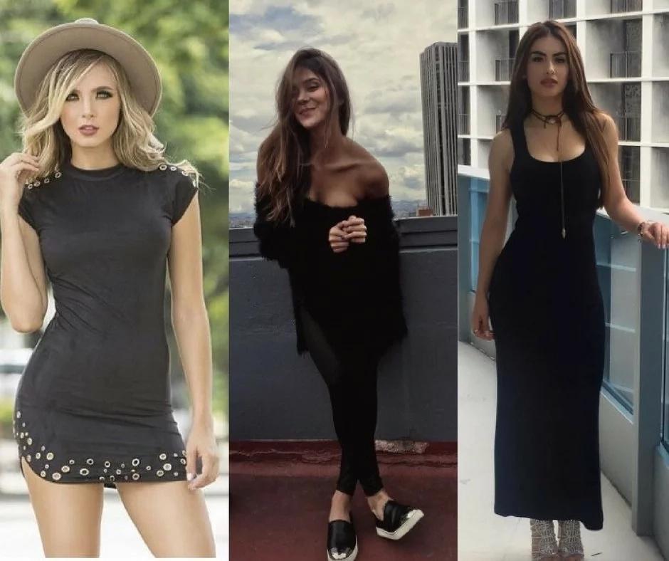 ¿Cuál de estas tres bellezas colombianas es tu favorita?