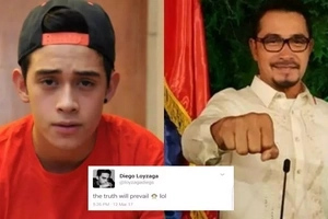 Diego Loyzaga speaks up on charges filed by Tourism employees vs dad Cesar Montano