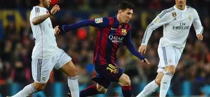 Messi Motivates Cristiano Ronaldo - Legend Zidane