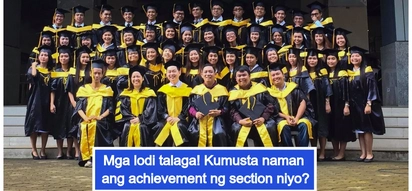 Ang babangis! Record-breaking Accountancy class graduates with honors for all 44 students