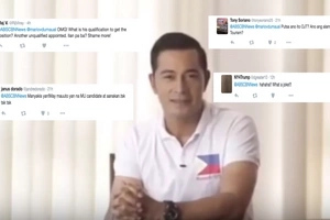 We don't need trainees! Netizens go nuts on Cesar Montano's government appointment