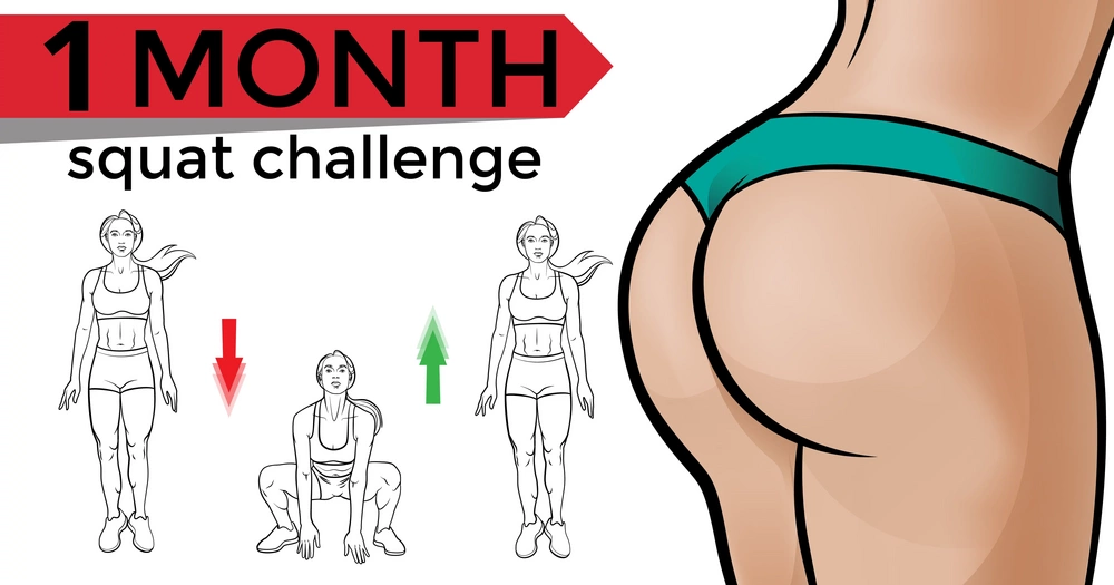 30-Day Squat Challenge That Will Transform Your Butt