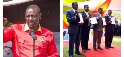 Wafuasi wa NASA wawaka moto baada ya William Ruto kudai Raila anapanga kufufua kesi za ICC