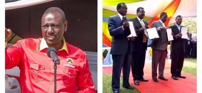Maneno ya William Ruto yatakomchoma Raila Odinga na wafuasi wa muungano wa NASA
