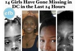 Public outrage as 14 black girls VANISH in a single day (photos)