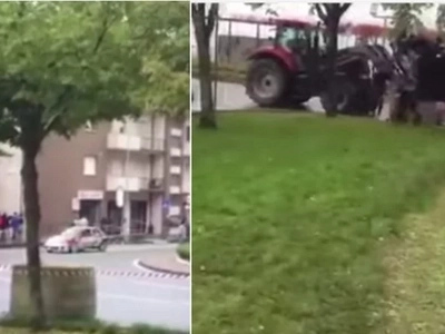 French Car Drives Straight Towards People Enjoying The Rally, One Man Was Killed Instantly (Video)