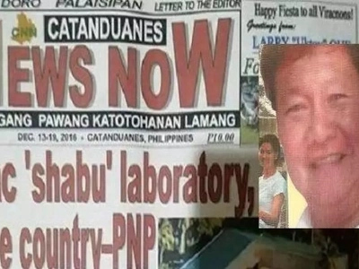 Journalist critical of Catanduanes shabu lab raid shot dead in violent shooting incident