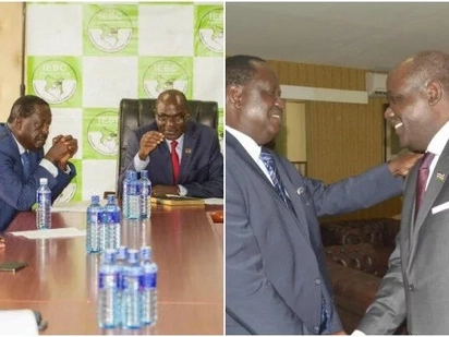 IEBC consider bowing to NASA pressure in new ballot paper deal with United Nations body