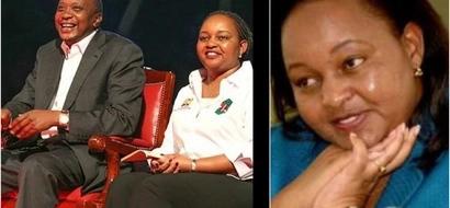 Stunningly beautiful photos that prove Uhuru Kenyatta enjoyed working with Ann Waiguru