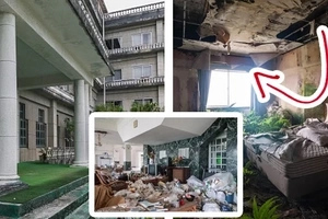 This used to be one of the most luxurious hotel years ago. Find out the terrifying reason why people left it abandoned...