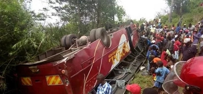 Another tragic road accident claims a life, injuring several others in Taita