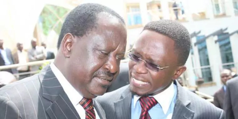 Raila finally revenges to Ababu Namwamba after leaving ODM