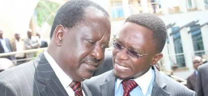 10 photos of Ababu Namwamba's best moments with Raila Odinga