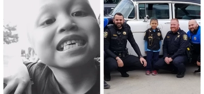 Fil-Am boy with cancer gets amazing Christmas gift and becomes honorary cop