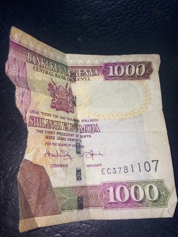 Your notes and coins according to CBK need to meet these standards