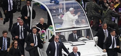 Forget Obama's Beast, Here Is What Pope Francis Is Using While In Kenya