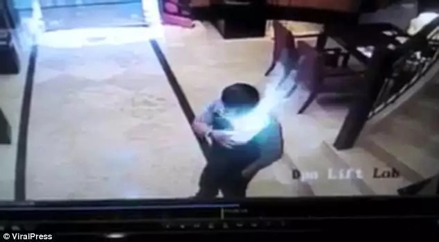 Man, 47, rolls on ground after Samsung phone explodes inside his pocket, sets his shirt on fire