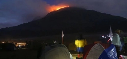 Officials Mull Closure of Mt. Apo in Wake of Fire