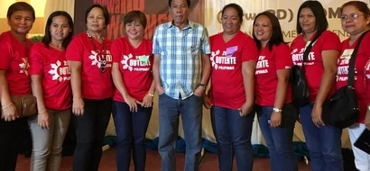 Duterte gets support from women leaders