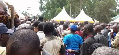 Bungoma villagers stunned as man is buried while seated