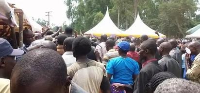 Wafuasi wa Jubilee wakabiliana VIKALI Murang'a (video)