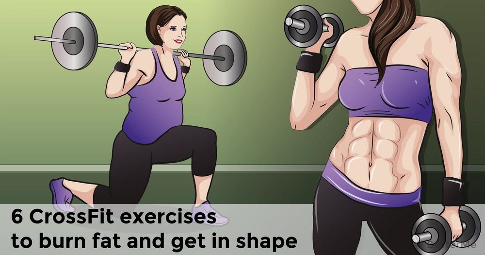 6 CrossFit exercises to burn fat and get in shape