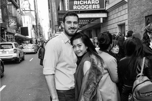 Rachelle Ann Go just posted a sweet photo of her with a foreign guy. Could he be her new boyfriend?