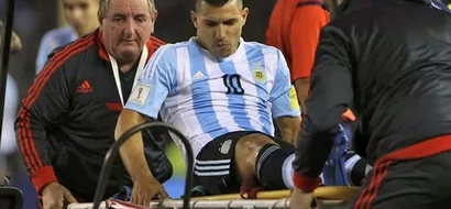 Injury Blow For Man City As Aguero Sidelined