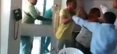 De no creer: el personal de esta clínica golpeó a los enfermos en la sala de urgencias