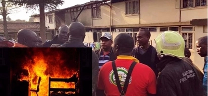 Strange night fire at Chuka Boys razes down dormitory