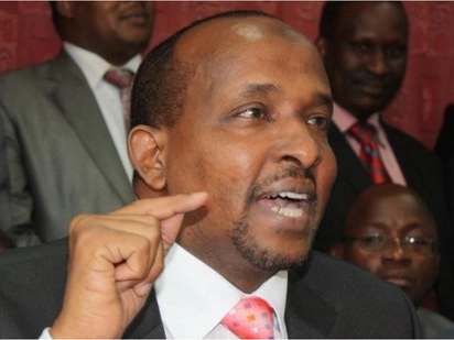 Do not expect to discuss electoral reforms with Uhuru - Aden Duale tells Raila