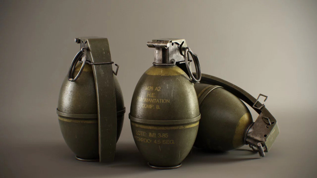"Panic after ""Dummy"" grenade was hurled in a residential compound"