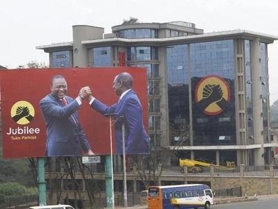 Uhuru and Ruto billboards to be brought down