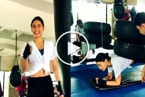 Shocking video of Lovi Poe planking with 2 large tires on her back stuns netizens