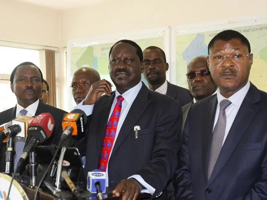 No NASA Principal can face Uhuru alone-Moses Wetangula