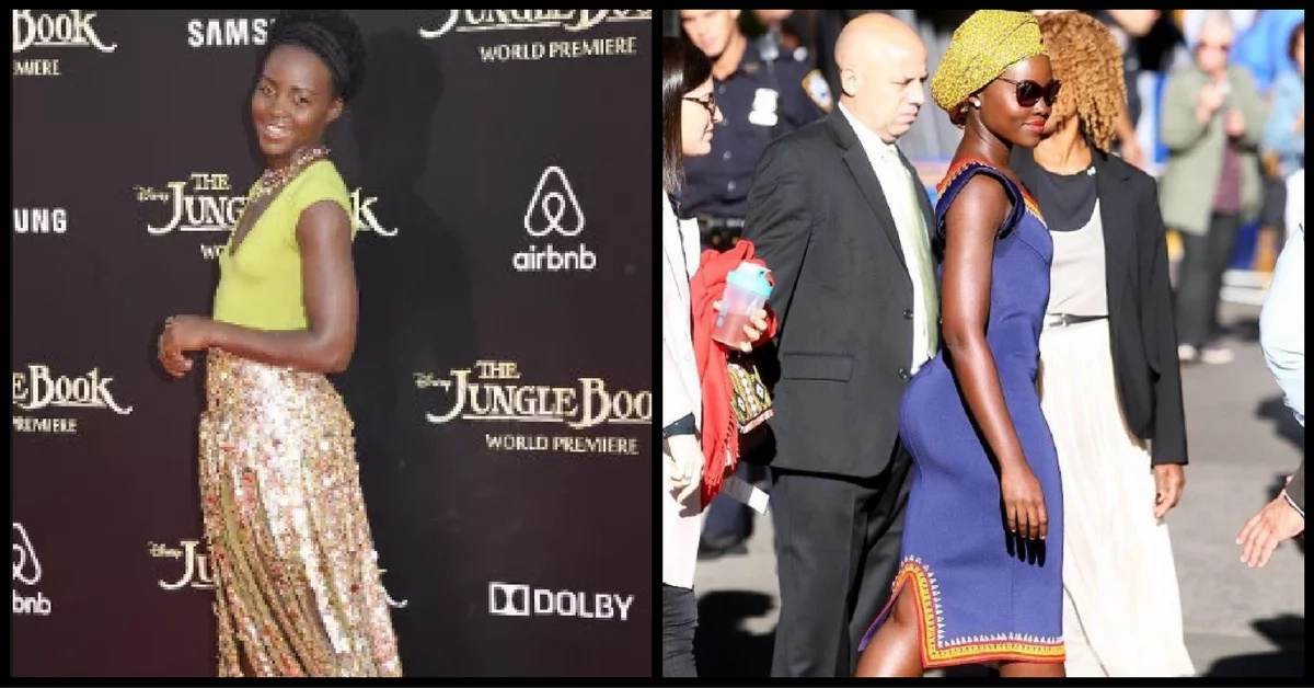 Lupita's behind gets recognised after eating Ugali