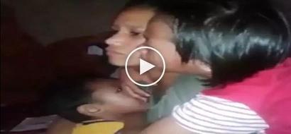 Sobrang naka-kaiyak! Heartbreaking video of crying kids saying goodbye to their OFW mom goes viral