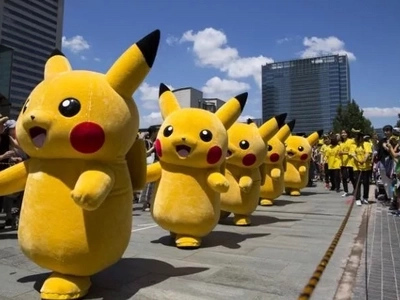 Find out why life-size Pikachus were all over a city in Japan!