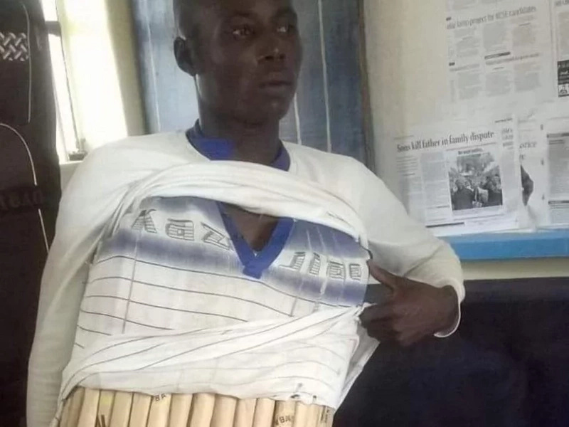 Photo: How Class 8 boy was busted with KSh 200,000 rolls of bhang
