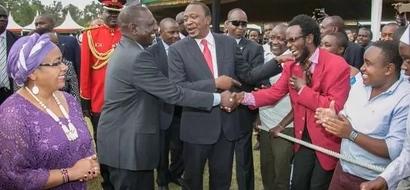 What Comedian 'Hamo The Professor' Told Uhuru And Ruto