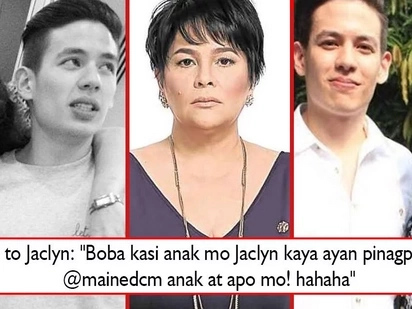 Tiger mom mode ako ngayon! Jaclyn Jose hits back at basher who calls Andi 'kadiri' and gives Maine thumbs-up for Jake Ejercito!