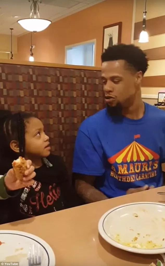 Quis and his daughter Daliyah. Photo: YouTube/QuisNChaela