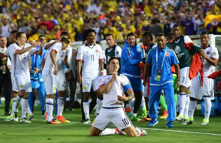 Colombia demuestra sus ganas de Copa