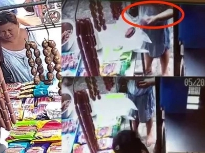 Pinay customer deceives this vendor at a wet market about her change in this viral video
