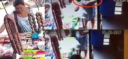 Kapal ng mukha! This Pinay swindled this vendor at a wet market using this common modus