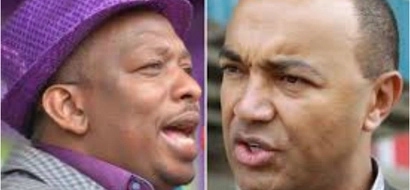 Mike Sonko and Peter Kenneth hold SECRET meeting at an undisclosed place