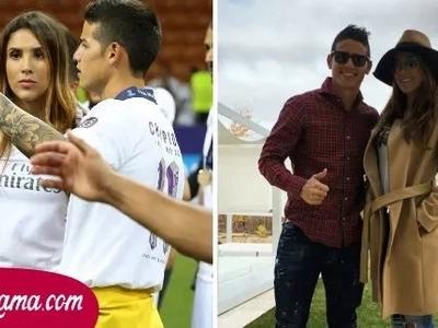 Esto no le gustó nada a James y por eso está furioso con su esposa, Daniela Ospina
