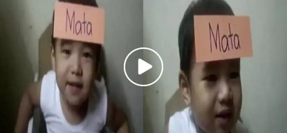 This cute baby shocked netizens with his Pinoy Henyo skills in viral Facebook video...that was really unexpected!