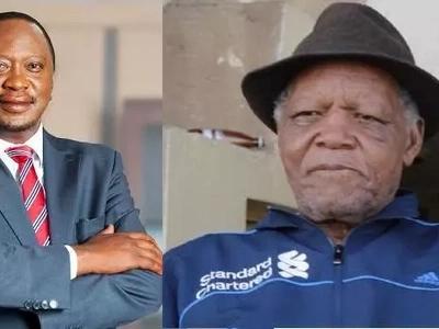 Uhuru finally honours football legend Joe Kadenge's dying wish (photos)